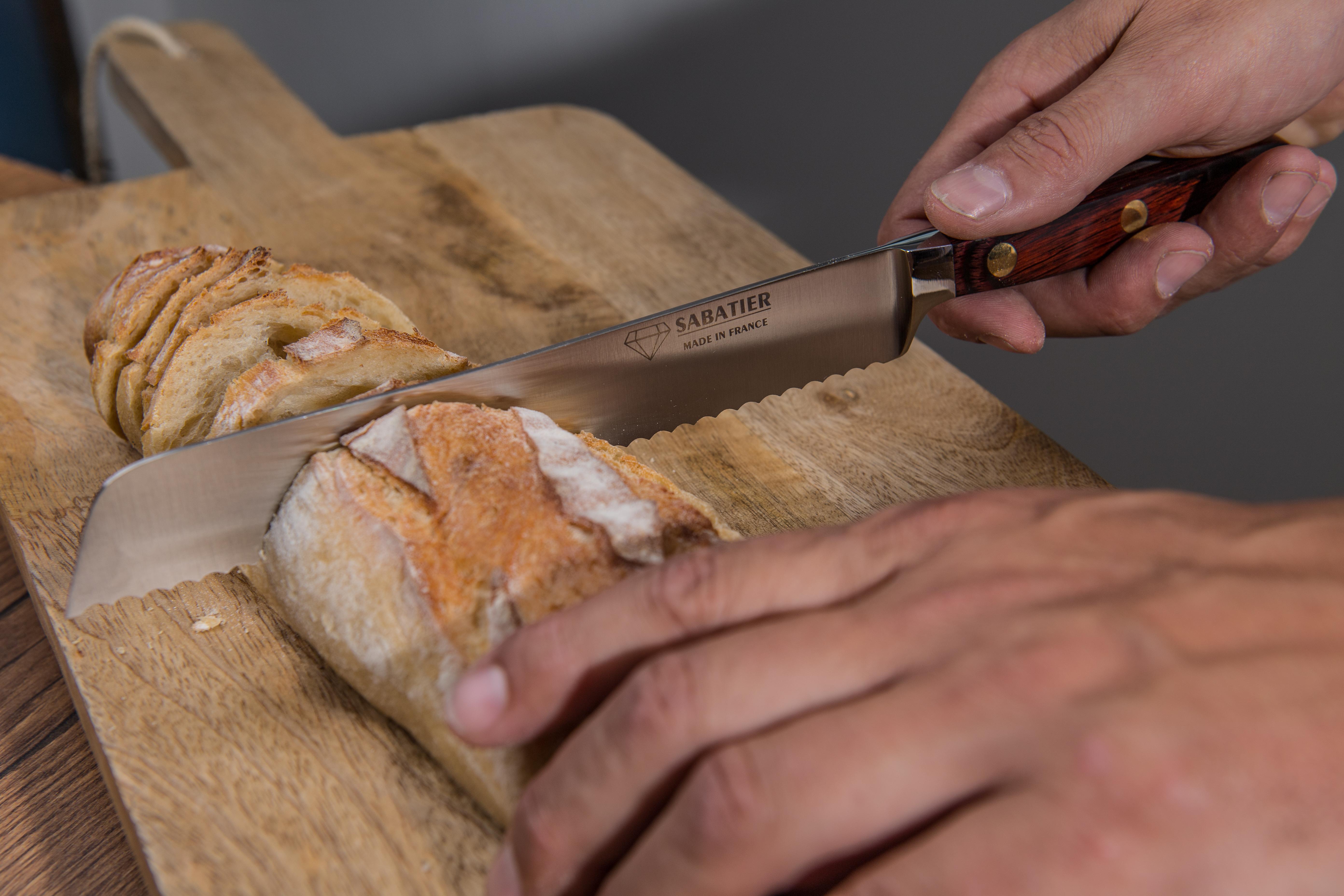 Couteau à pain - SABATIER Diamant - PROVENCE